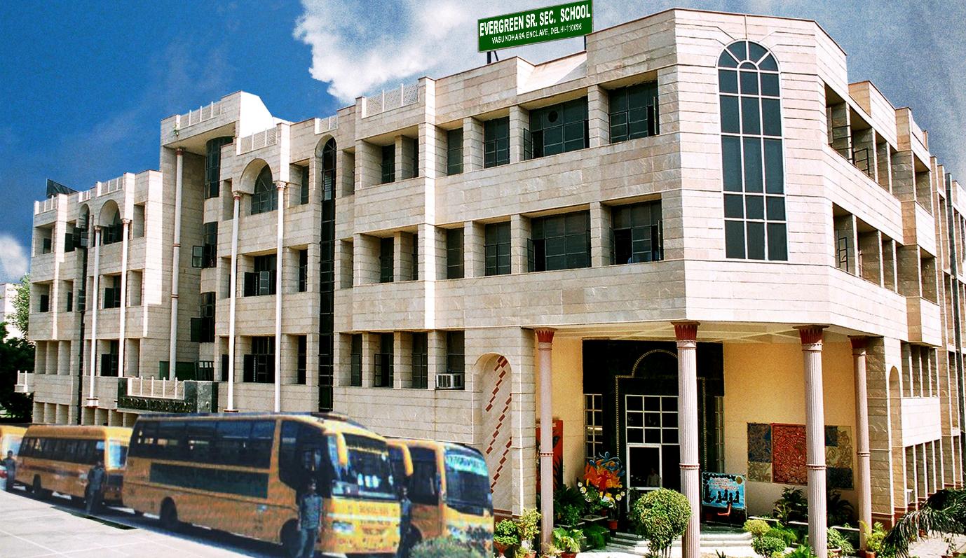 Secondary School in East Delhi - Evergreen School